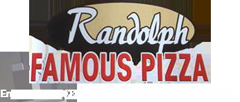 Randolph Famous Pizza Logo