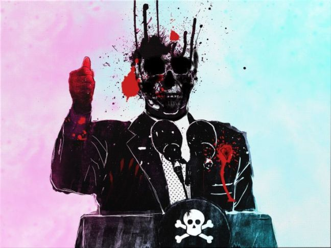 political-skull