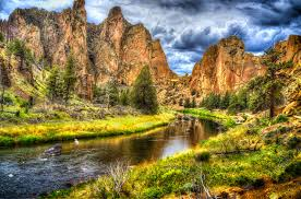 Beautiful image of Smith Rock