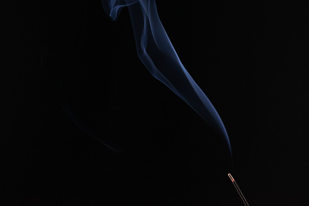 Black smoke picture from Unsplash