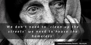 House the Homeless - from Council to Homeless Persons