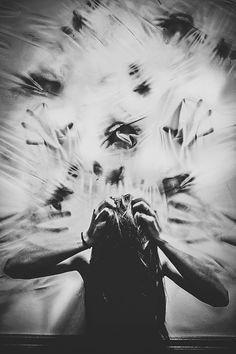 Schizophrenia inspired artwork